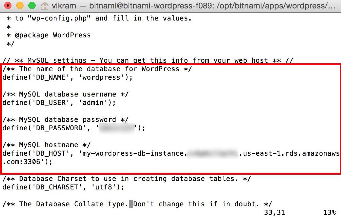 [wordpress] ローカルmysqlからAWS RDSへの引っ越し方法